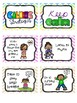 Calming Strategies for Classroom Management - Color, B&W, and Editable!