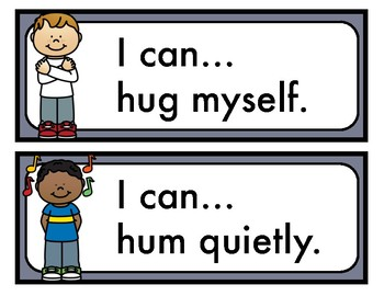 Calming Strategies Cards for Kids