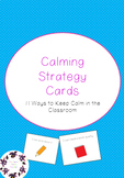Calming Strategy Cards