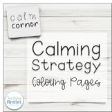 Calming Strategy Coloring Pages