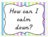 Calming Strategy Poster
