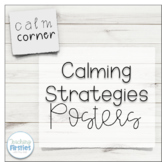 Calming Strategy Posters