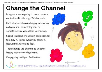 Calming Strategy Posters - older students
