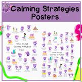 Calming Strateiges Poster Pack   Emotional Regulation Stra