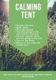 Calming Tent Poster