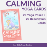 Calming Yoga Cards for Kids