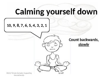 Calming Yourself Down; Strategies to Calm Down; Self-Regulation