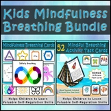 Calming and Mindfulness Breathing Exercises Bundle for Self-Regulation
