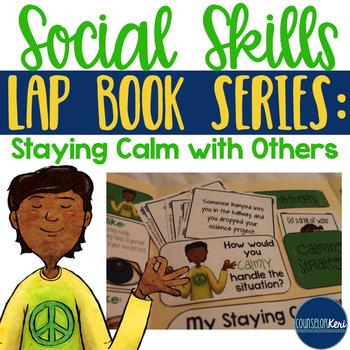 Calmly Expressing Frustration Social Skills Lap Book - Sch