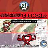 Calorie Cruncher -- Algebra Edition - Inequalities - 21st Century Math Project