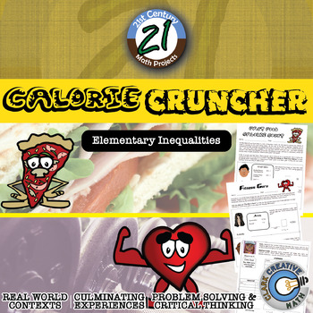 Calorie Cruncher -- Elementary Inequalities - 21st Century Math Project