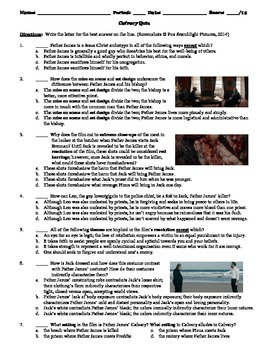 Calvary Film (2014) 15-Question Multiple Choice Quiz
