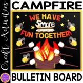 Camping Theme Decor | Camp Fire Bulletin Board | S'more Fu