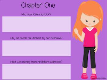 Cam Jansen #6 - Novel Study (Great for Google Classroom)