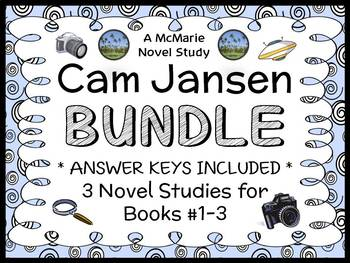 Cam Jansen BUNDLE (David A. Adler) 3 Novel Studies : Books #1-3