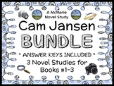 Cam Jansen BUNDLE (David A. Adler) 3 Novel Studies : Books #1-3