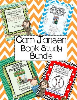 Cam Jansen Book Study Bundle