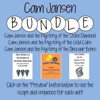 Cam Jansen Bundle