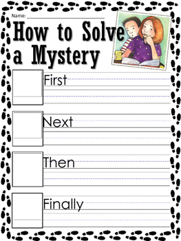 Cam Jansen Mysteries writing prompts and worksheets