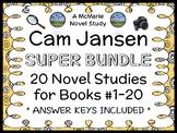 Cam Jansen SUPER BUNDLE (David A. Adler) 20 Novel Studies: Books #1-20 (469 pgs)