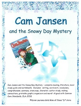Cam Jansen Snowy Day Mystery Reading Literature Novel ELA Study Guide CCSS