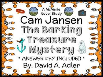 Cam Jansen: The Barking Treasure Mystery (Adler) Novel Stu