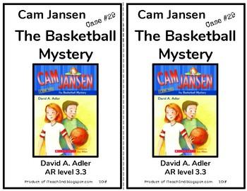 Cam Jansen The Basketball Mystery