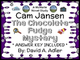 Cam Jansen: The Chocolate Fudge Mystery (Adler) Novel Study / Comprehension