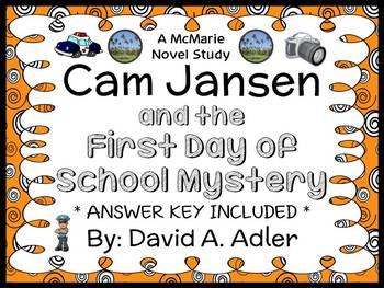 Cam Jansen: The First Day of School Mystery (David A. Adler) Novel Study