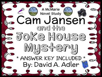 Cam Jansen: The Joke House Mystery (David A. Adler) Novel Study / Comprehension