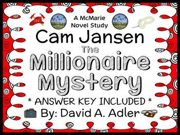 Cam Jansen: The Millionaire Mystery (David A. Adler) Novel Study / Comprehension
