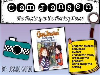 Cam Jansen The Mystery at the Monkey House NOVEL STUDY