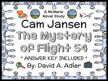 Cam Jansen: The Mystery of Flight 54 (David A. Adler) Novel Study