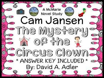 Cam Jansen: The Mystery of the Circus Clown (David A. Adler) Novel Study
