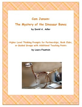 Cam Jansen: The Mystery of the Dinosaur Bones Discussion Q
