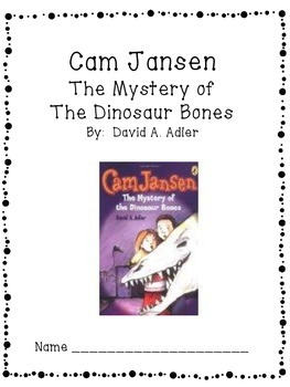 Cam Jansen:  The Mystery of the Dinosaur Bones