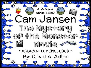Cam Jansen: The Mystery of the Monster Movie (David A. Adl