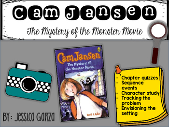 Cam Jansen The Mystery of the Monster Movie NOVEL STUDY