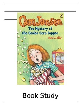 Cam Jansen The Mystery of the Stolen Corn Popper Activities