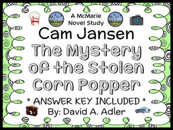 Cam Jansen: The Mystery of the Stolen Corn Popper (David A. Adler) Novel Study