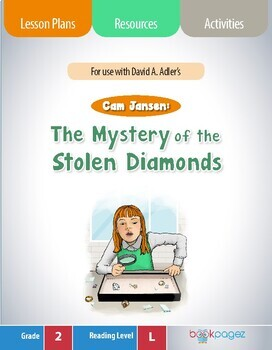 Cam Jansen: The Mystery of the Stolen Diamonds Lesson Plan- Book Club (CCSS)