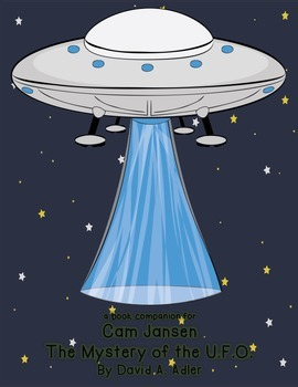 Cam Jansen {The Mystery of the UFO} book companion
