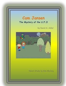 Cam Jansen: The Mystery of the U.F.O. book study