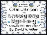 Cam Jansen: The Snowy Day Mystery (David A. Adler) Novel Study / Comprehension