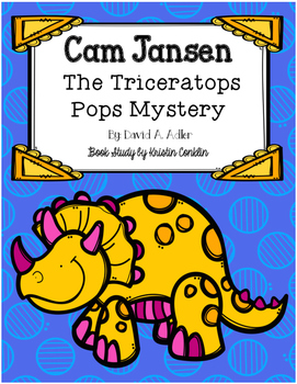 Cam Jansen The Triceratops Pops Mystery