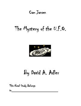 Cam Jansen U.F.O. Mystery Novel Study