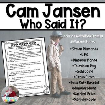 Cam Jansen... Who Said It?