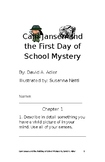 Cam Jansen and The First Day of School Mystery student booklet