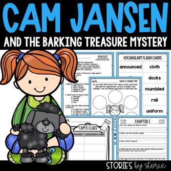 Cam Jansen and the Barking Treasure Mystery Book Questions & Vocabulary
