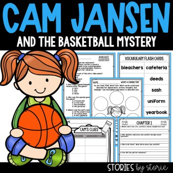 Cam Jansen and the Basketball Mystery Book Questions and V